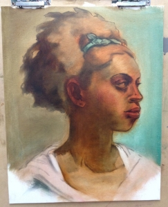 oil underpainting