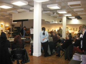 presenting to the new york state figure study guild