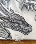 detail dragon
