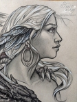 detail dragon lady