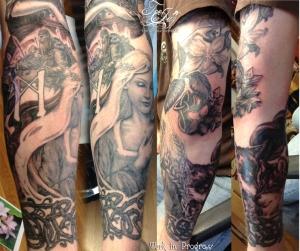 Goddess Sif tattoo