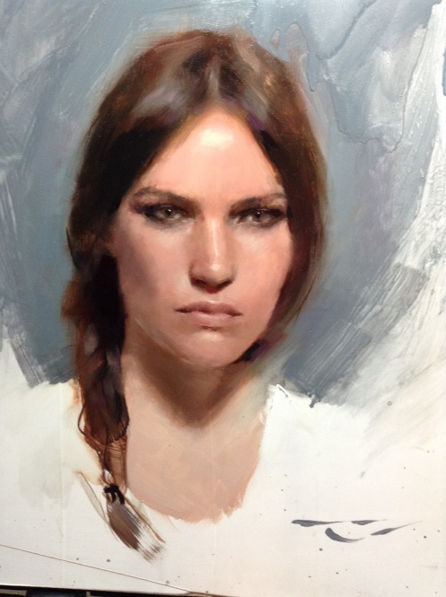 Casey Baugh portrait
