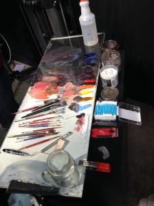 Casey Baugh palette