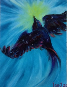 nightbird painting