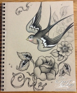 traditional Bird Flash redraw