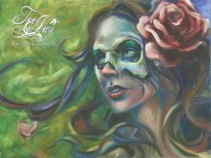 Gypsy Skull Lady print