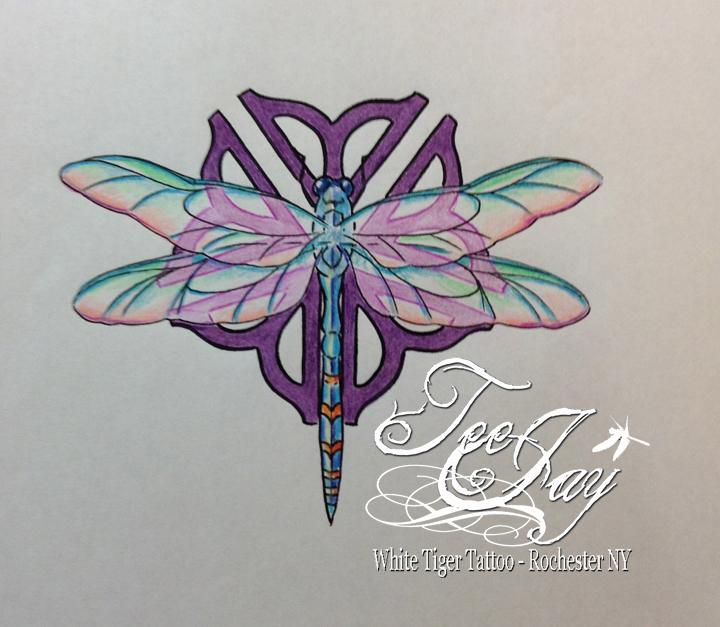 Rochester Flower Tattoo