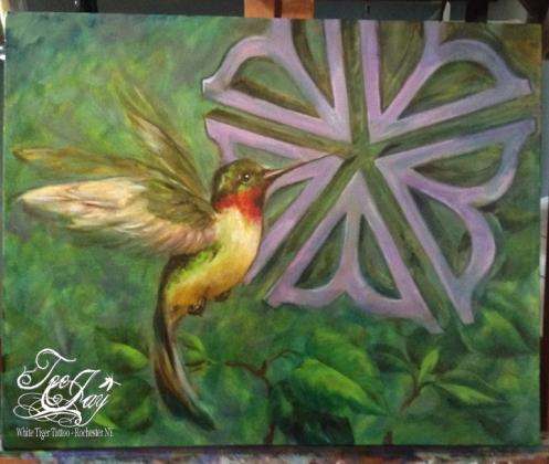 Rochester City Flower & Hummingbird