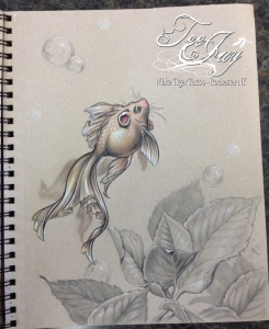 flying fish drawing