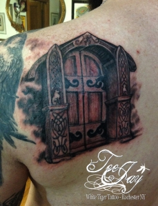 Freyja's Hall tattoo