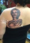 Marilyn Monroe tattoo with tattoos