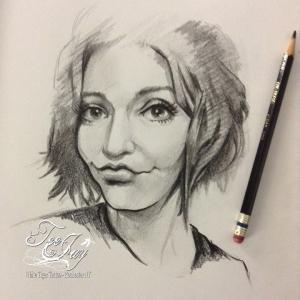 sketch my face of hannesto