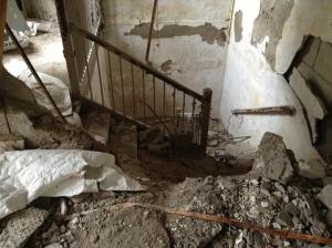 dangerous stairwell
