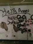 bad grafitti Hell's Angel