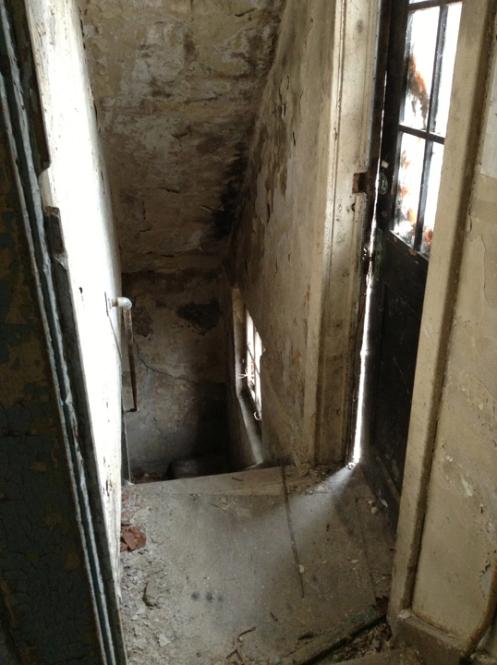 enter the basement