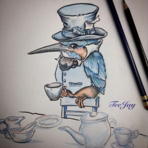 KingFisher joins the Tea Party