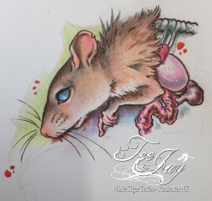 former mouse tattoo design