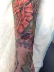 dead ladybug tattoo