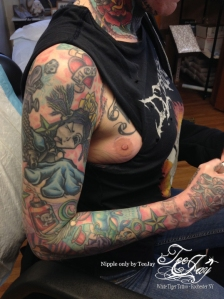 finished nipple