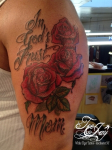 In God's Trust Tattoo cover-up