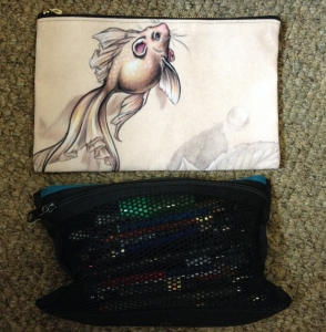 fancy tail mermouse pencil case
