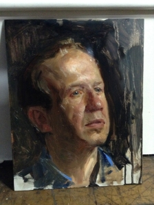 Jeff Hein portrait demo Tom Rochester NY