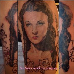Scarlett tattoo