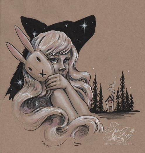 Chiara Bautista Fan Art by TeeJay