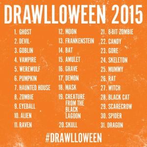 Drawlloween 2015