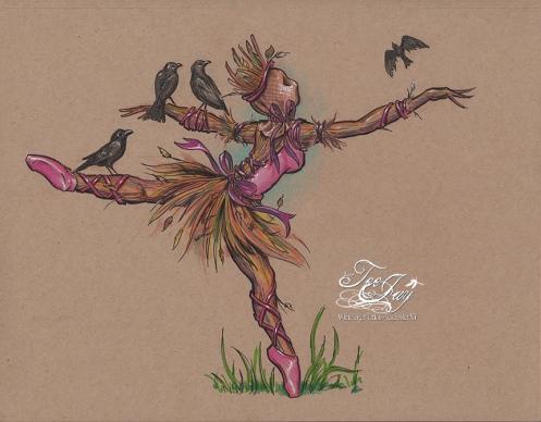 Scarecrow Ballerina