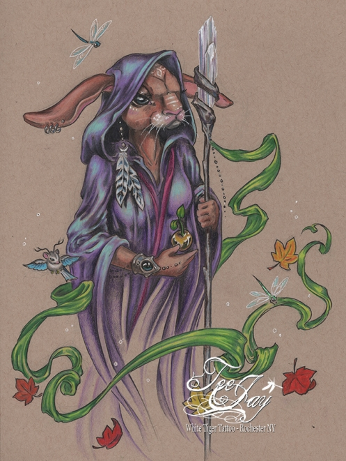 spirit bunny,shaman,rabbit,mage,