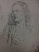 silverpoint life drawing