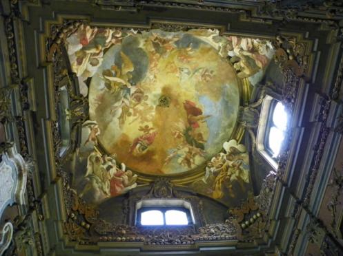 roof of Milan Ossuary - San Bernardino alle Ossa