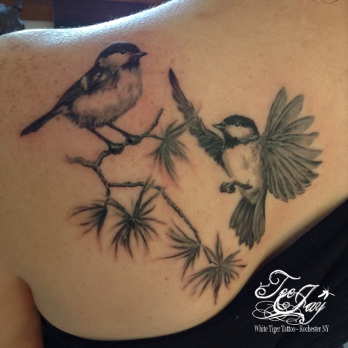 chickadees tattoo
