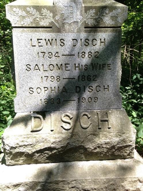 Disch - the Witch's Grave