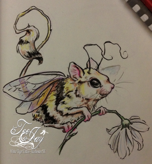 bumblemouse drawing
