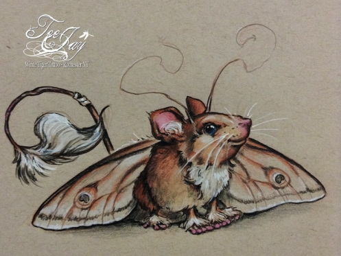 mothmouse drawing