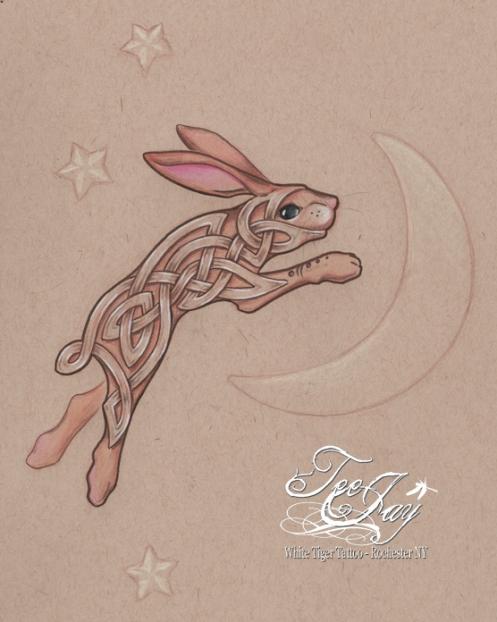 celtic bunny