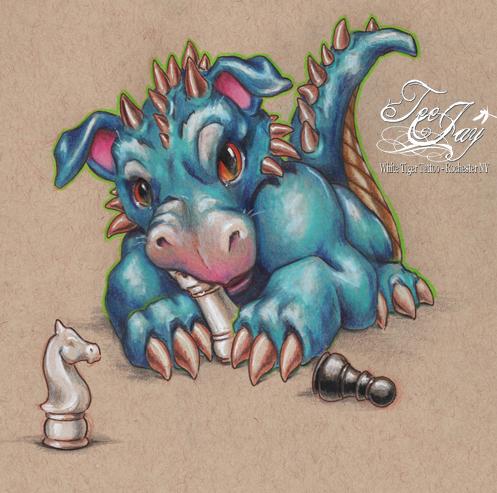 baby castle dragon