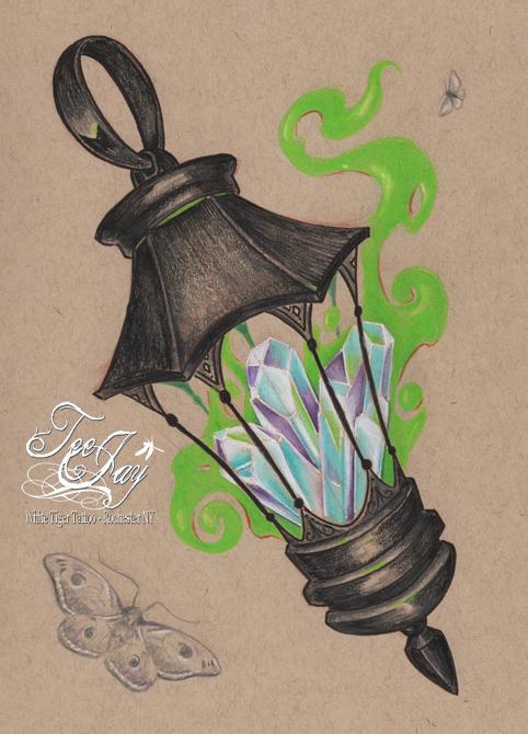 crystal lantern
