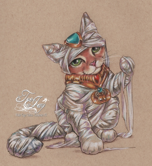Egyptian Mummy Cat