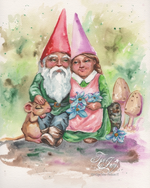 Gnome Couple