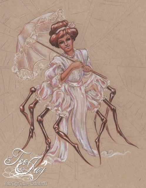 Victorian Spider Lady