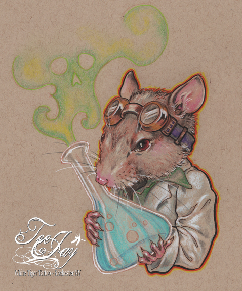 Mad Scientist Lab Rat