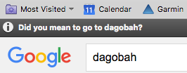 did you mean to go to Dagobah?