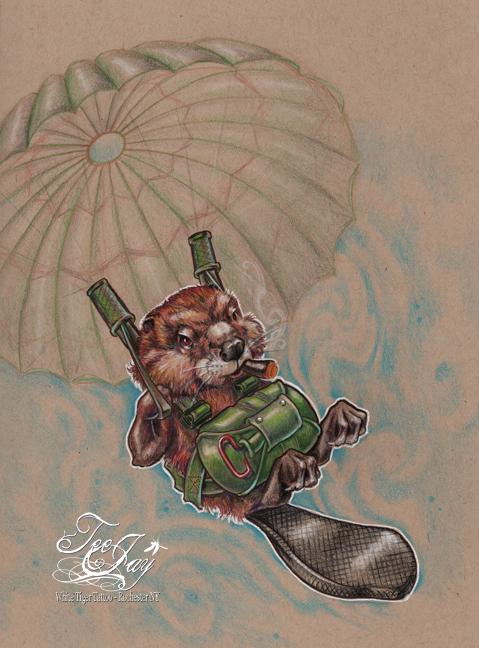 fifties nuisance paratrooper beaver