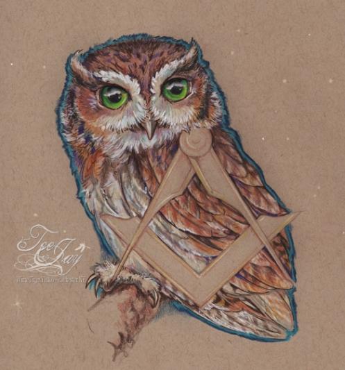 masonic owl