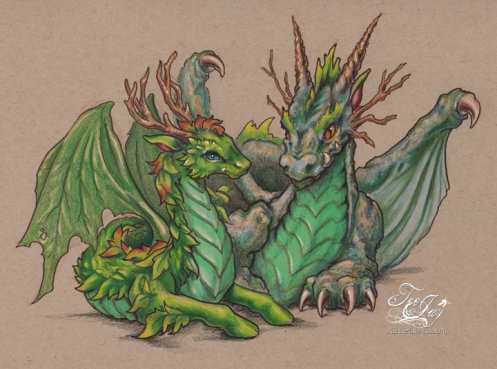 greenman dragons
