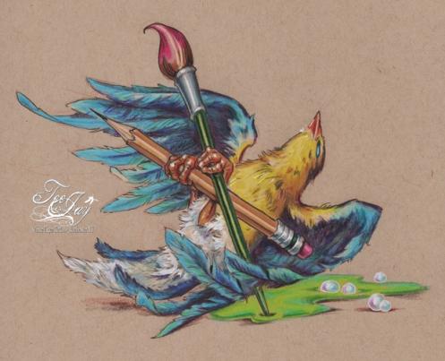 dead artist bird