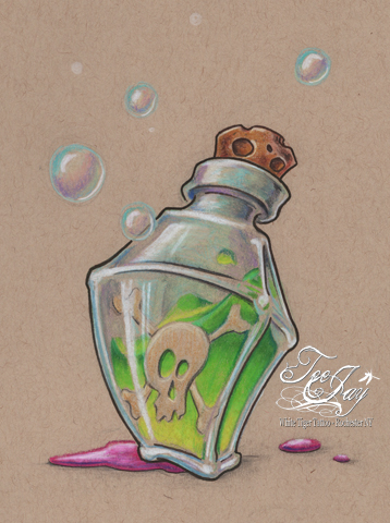 day158poisonbottle